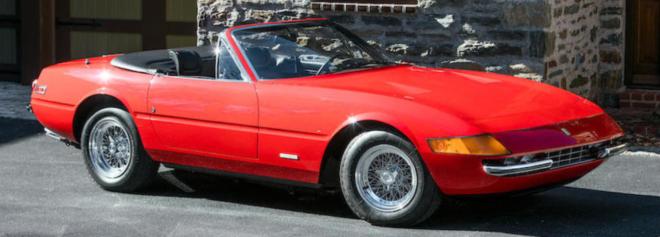 Lease a Ferrari 365 GTS/4 Daytona Spider