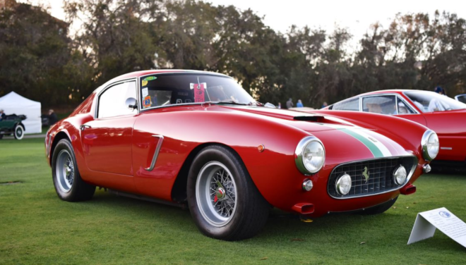 Lease a Ferrari 250 GT SWB