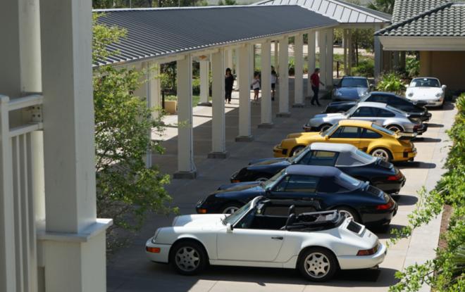 Porsche at the Werks Reunion