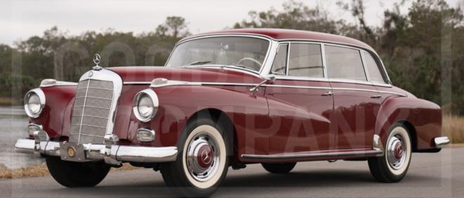 Lease a Mercedes 300 D Adenauer