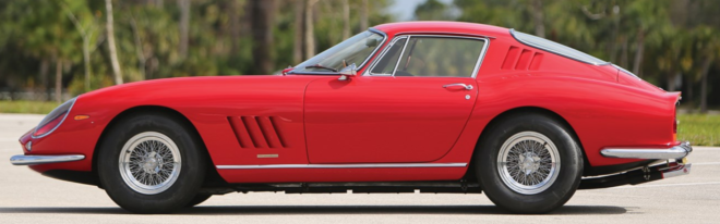 Lease a red Ferrari 275 GTB