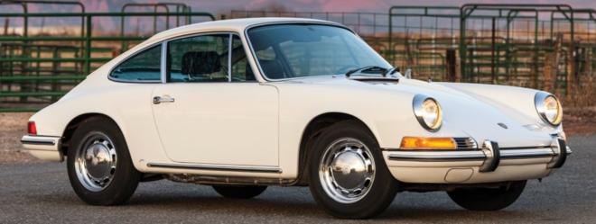 Lease a white Porsche 912