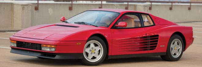 Lease a 1988 Ferrari Testarossa