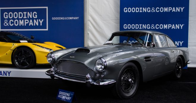 Lease a car from the Gooding auction