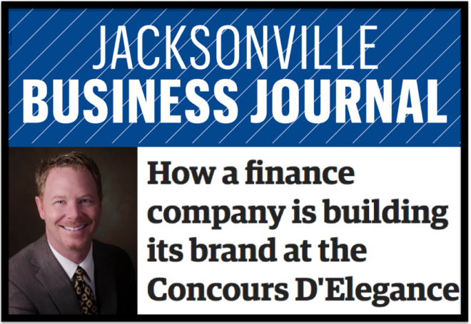 Jacksonville Business Journal Features Chris Warren at Amelia Island Concours d'Elegance