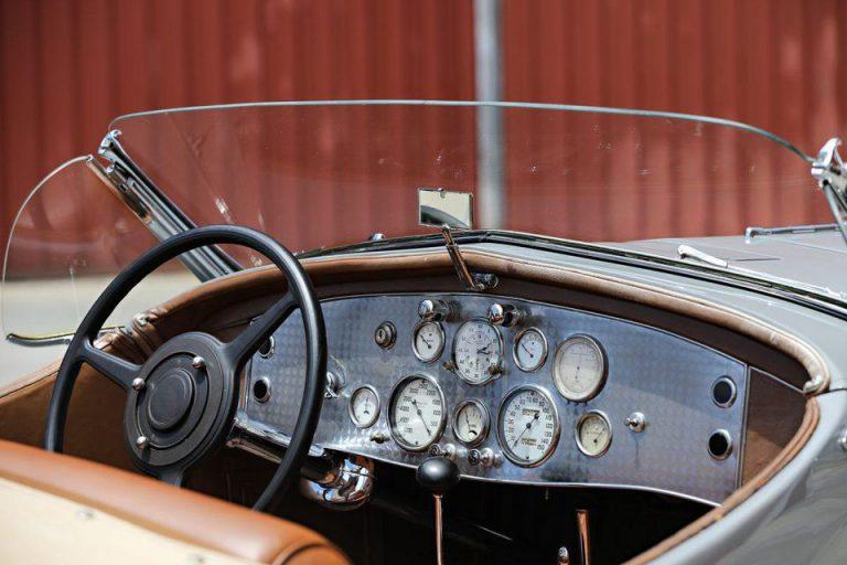 Gary Cooper 1935 Duesenberg Ssj Lagrande Roadster Dashboard