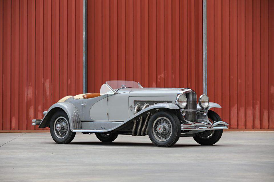 Gary Cooper 1935 Duesenberg Ssj Lagrande Roadster Front Passengers Side