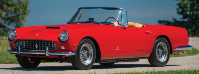 Lease a 1960 Ferrari 250 GT
