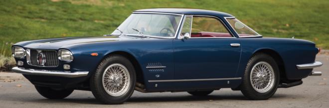 Lease a blue Maserati 5000 GT
