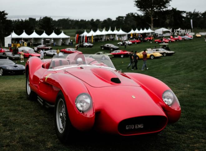 Lease a red Ferrari Testa Rossa