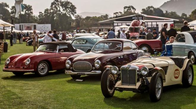 Lease a car from Bonhams Quail auction