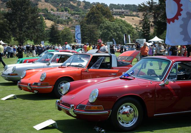 Porsche 911s at the Werks Reunion