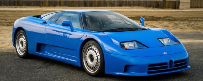 Lease a Bugatti EB110