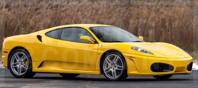 Lease a 2005 Ferrari F430