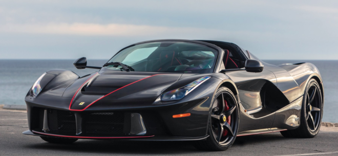 Lease a LaFerrari from Auction