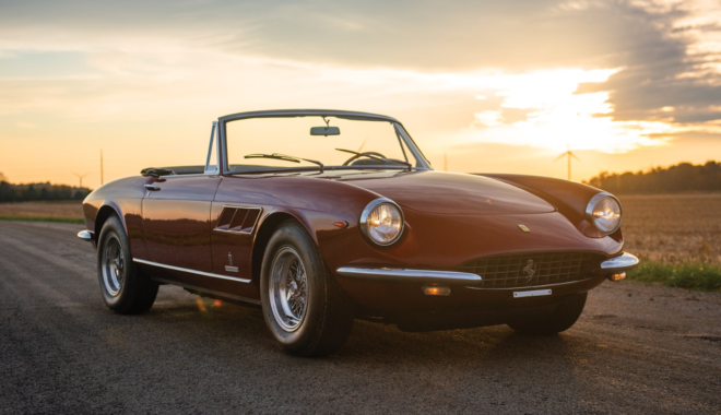 Lease a Ferrari 330 GTS from auction