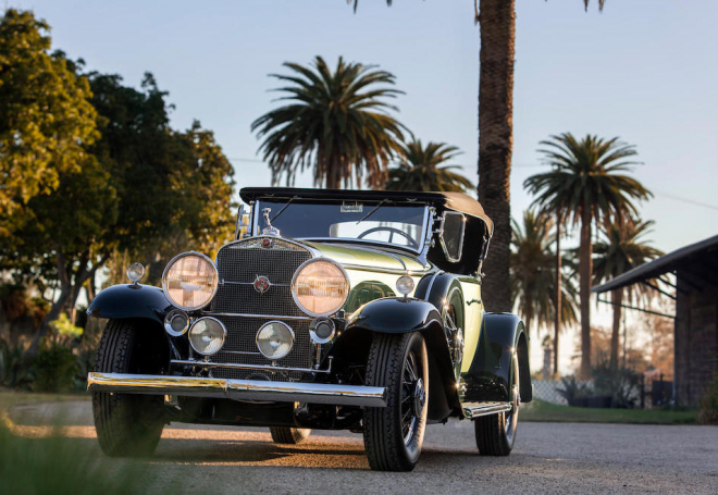 Lease a vintage car from auction