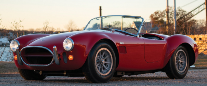 Lease a red Shelby Cobra