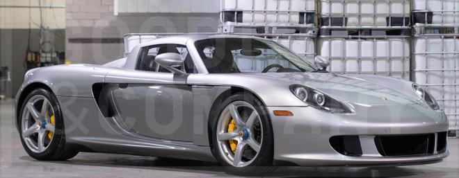 Lease a Porsche Carrera GT