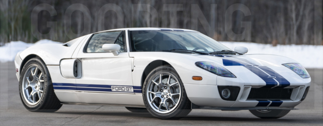Lease a white Ford GT