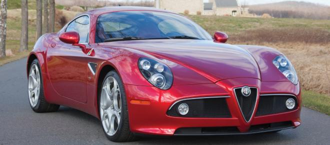 Lease an Alfa Romeo 8C