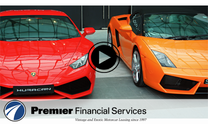 Luxury & Exotic Auto Leasing | Premier Financial Services