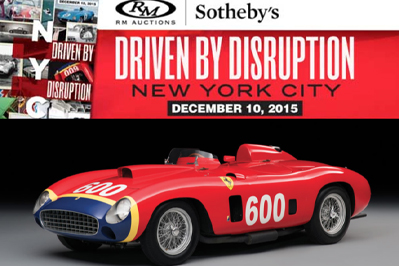 Carstowatch Rmsothebysdrivenbudisruptiondec10th