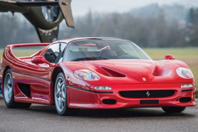 Model Masterpiece Ferrari F50