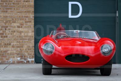 Model Masterpiece Jaguar D Type