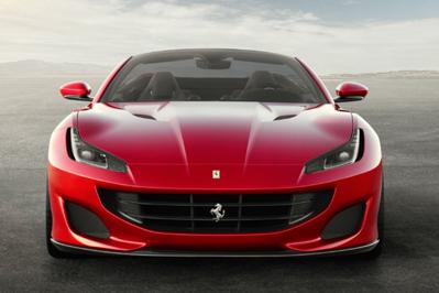 Model Perspective 2018 Ferrari Portofino