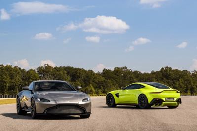 Model Perspective 2019 Aston Martin Vantage