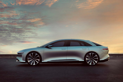 Model Perspective Lucid Air