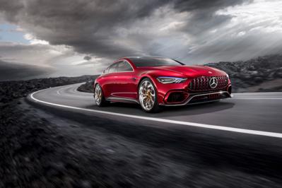 Model Perspective Mercedes Amg Gt Concept