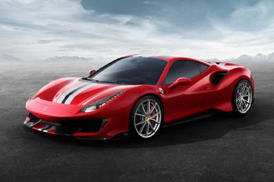 New Model Perspective Ferrari 488 Pista