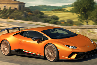 New Model Perspective Lamborghini Huracán Performante