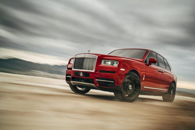 New Model Perspective Rolls Royce Cullinan