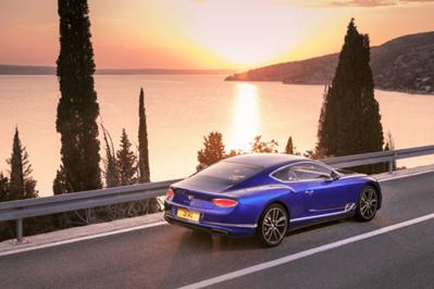 Ew Model Perspective Bentley Continental Gt