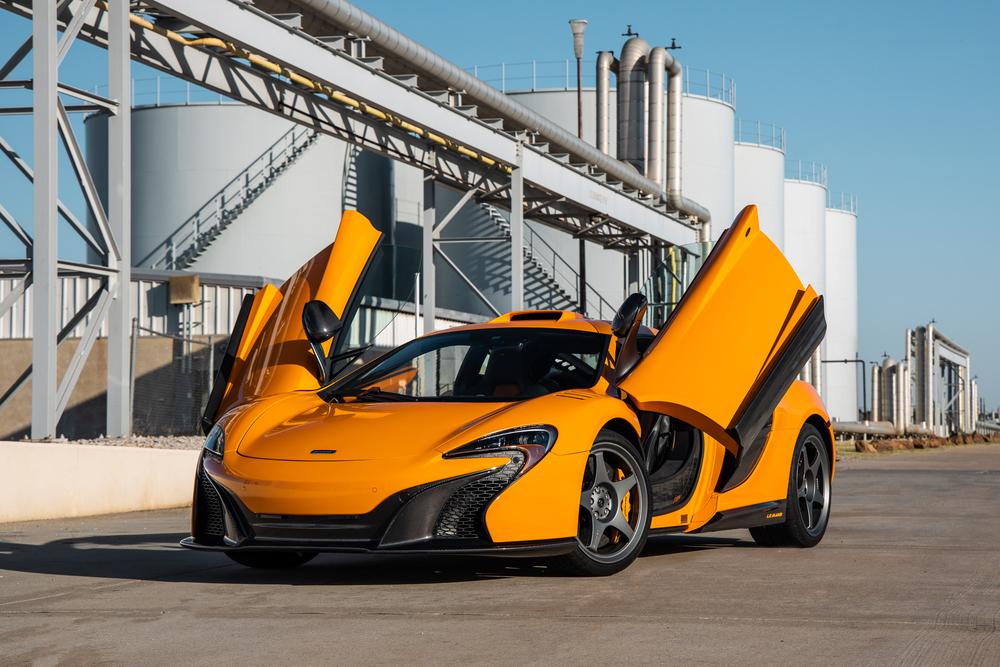 Finance a McLaren