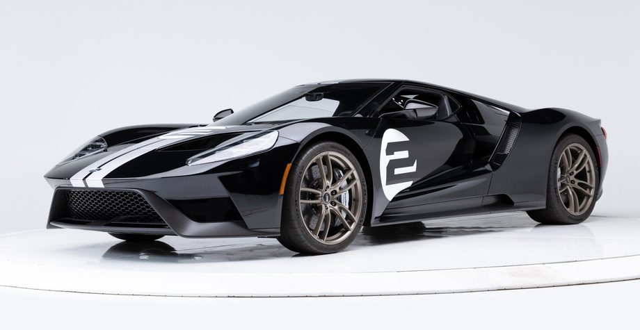 Leasing a Ford GT