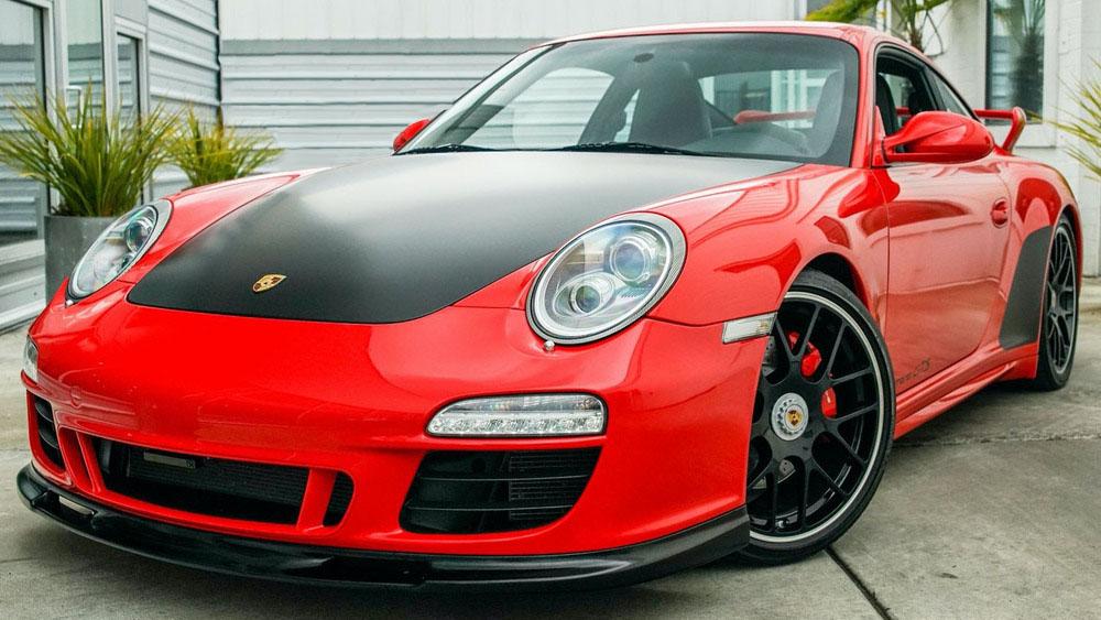 A 2011 Porsche 911 Carrera Gts
