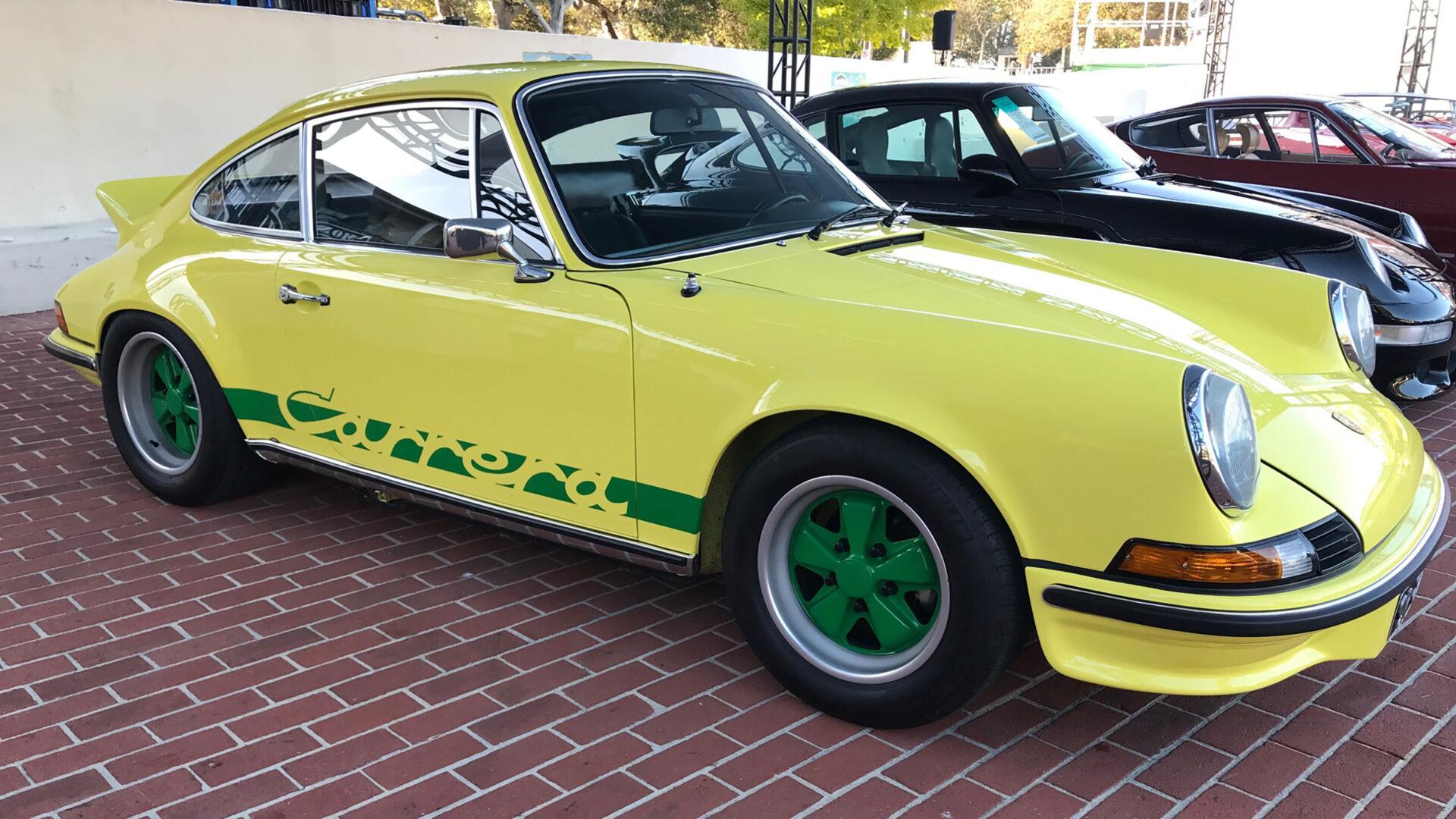 A Porsche Carrera