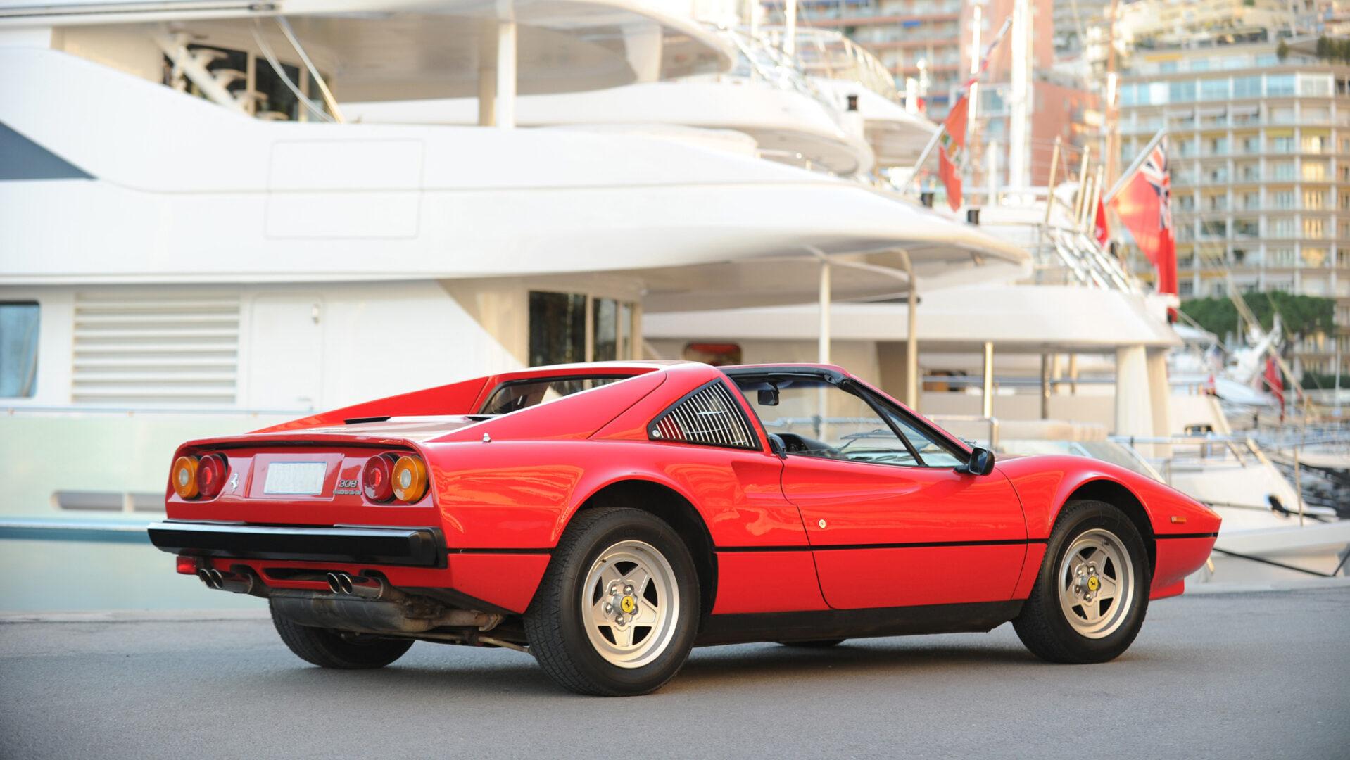 A 1982 Ferrari 328