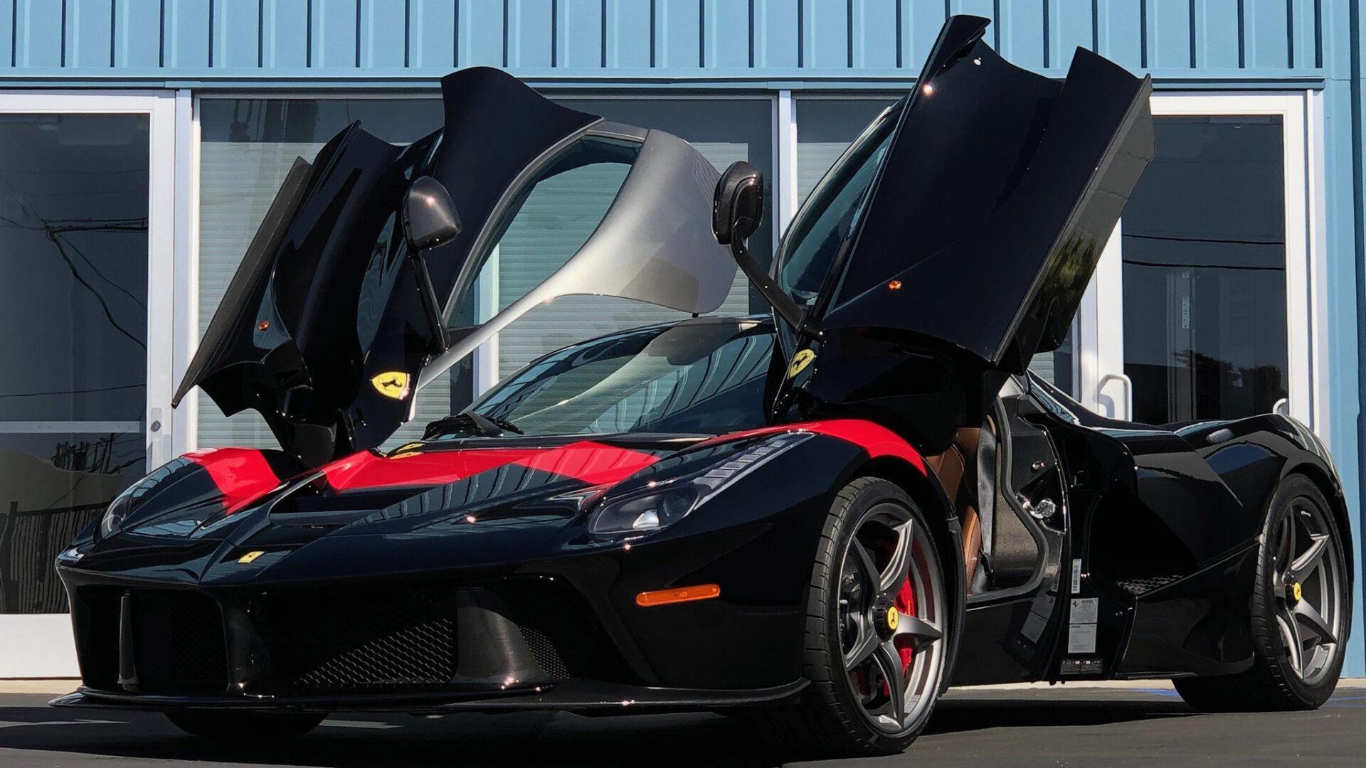 A 2014 Ferrari Laferrari Dealership