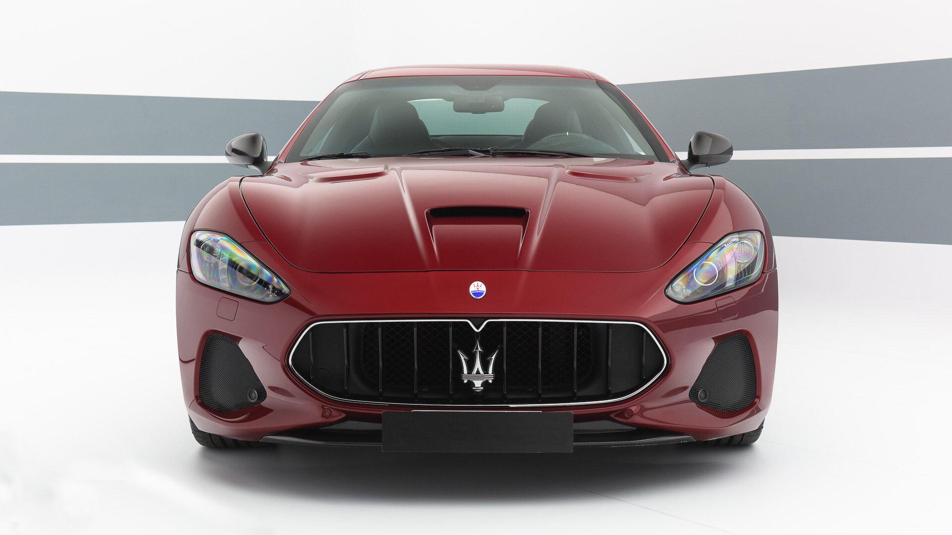 A 2019 Maserati Granturismo Mc Stradale Front