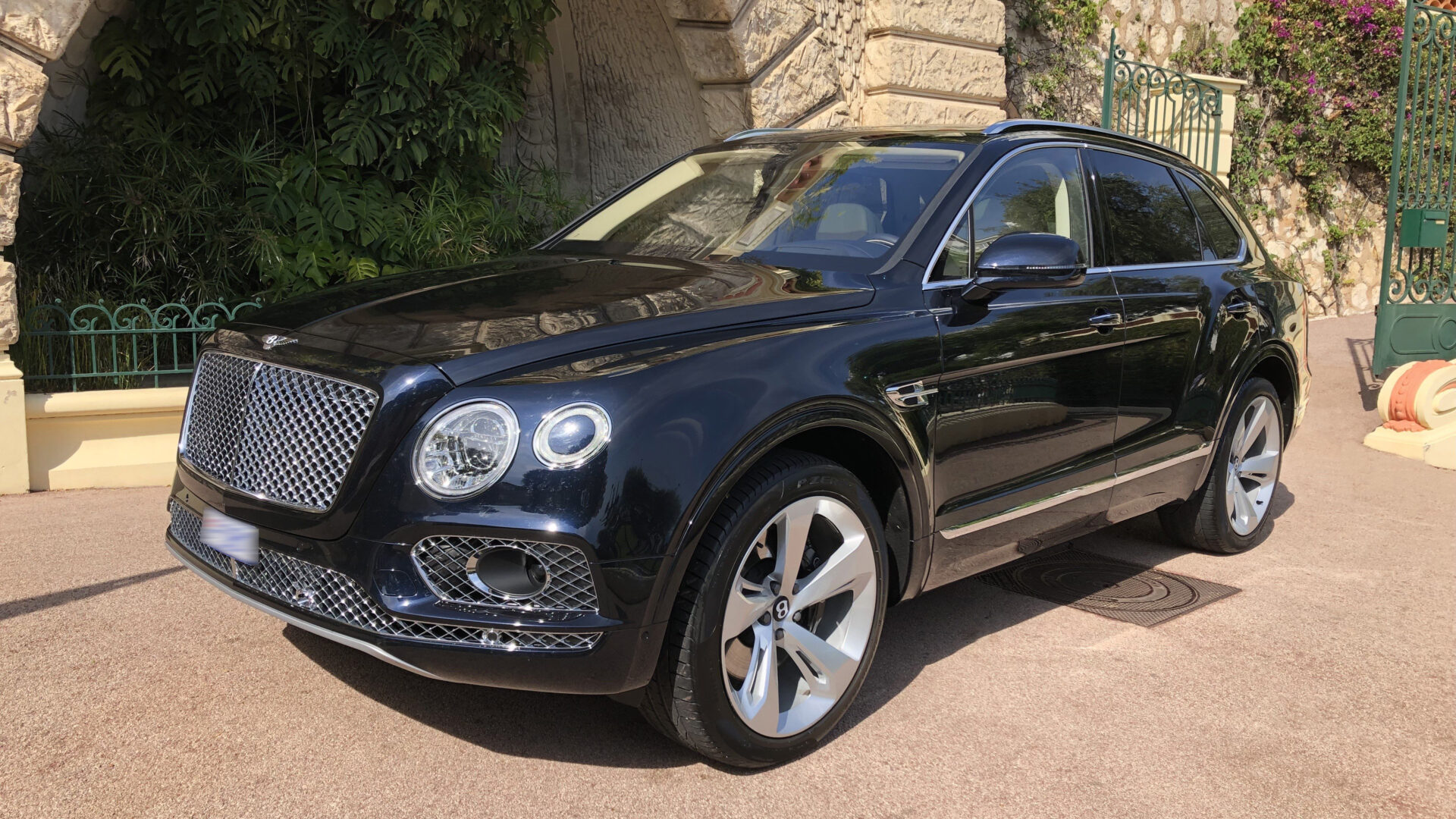 B 2018 Bentley Bentayga