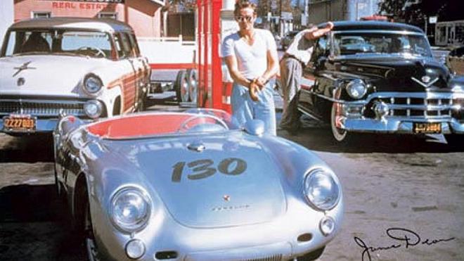 B James Dean Porsche 550 Spyder