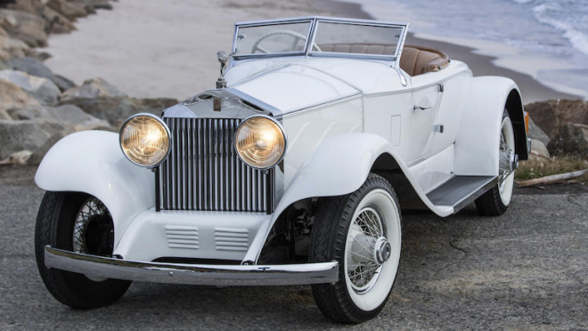 1924 Rolls Royce Silver Ghost Piccadilly Special Roadster 660x506