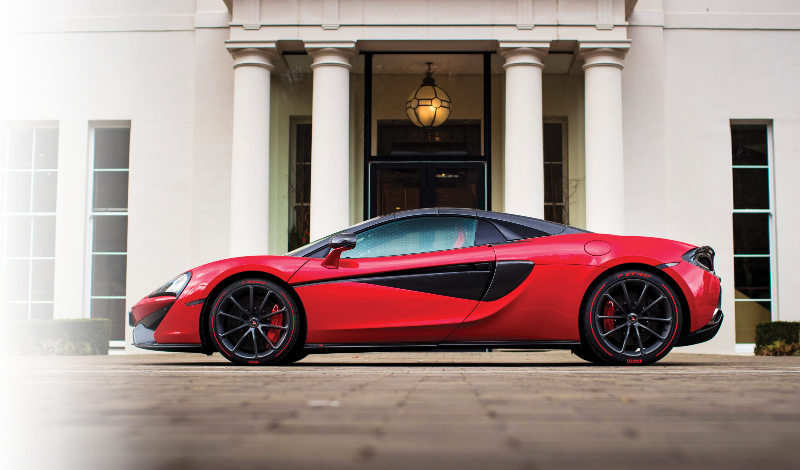 Red Mclaren Updated