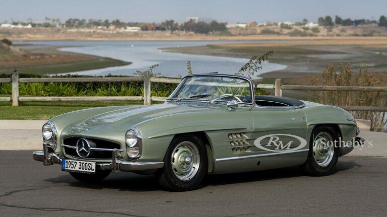 1957 Mercedes Benz 300 Sl Roadster