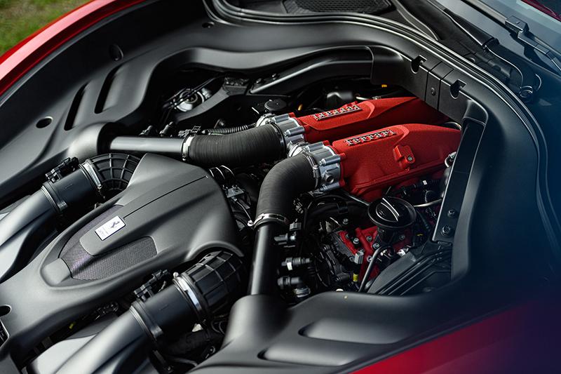 New Ferrari Roma, Lease a Ferrari, 612-horsepower twin-turbo 3.9-liter V8 and 8-speed dual-clutch automatic transmission